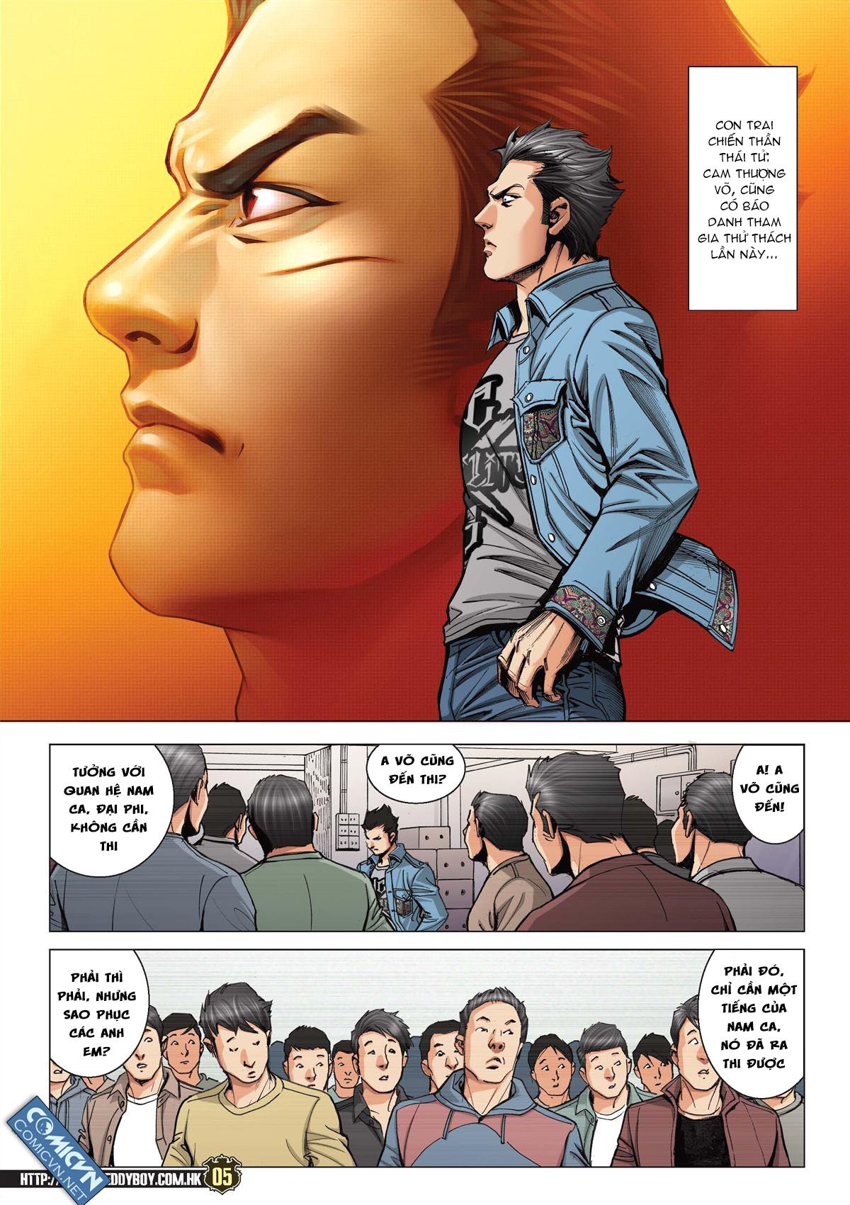 Người Trong Giang Hồ chapter 2119: nam ca vs thượng võ trang 4