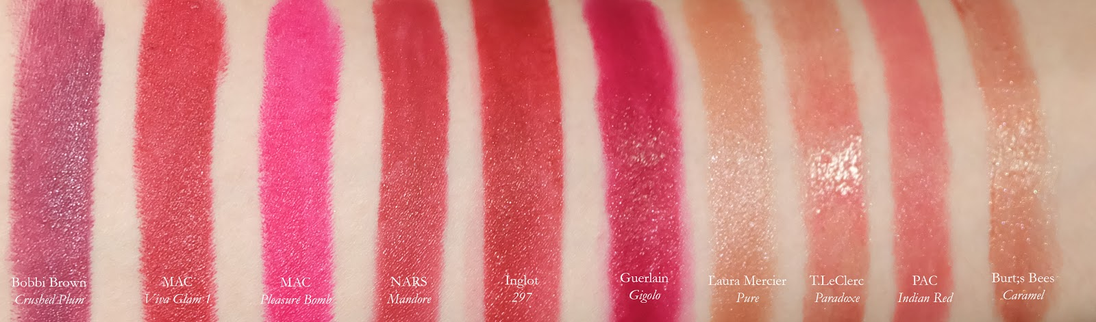 Best lipsticks fall winter holiday swatch review