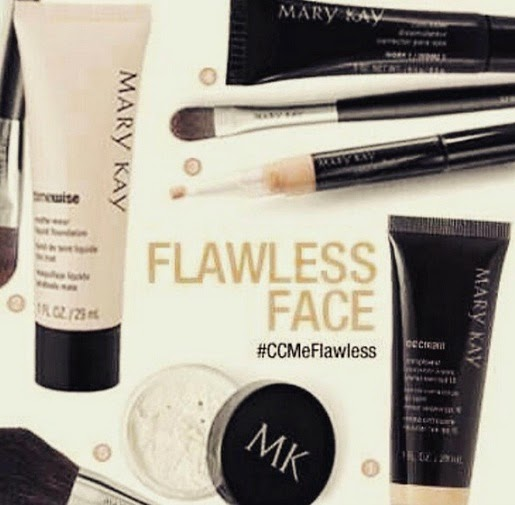 Perfect Flawless Face with mary kay makeup