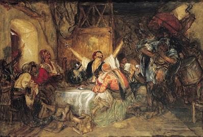 Αποκριά στην Αθήνα 1 Ιανουαρίου 1878 Νικόλαος Γύζης