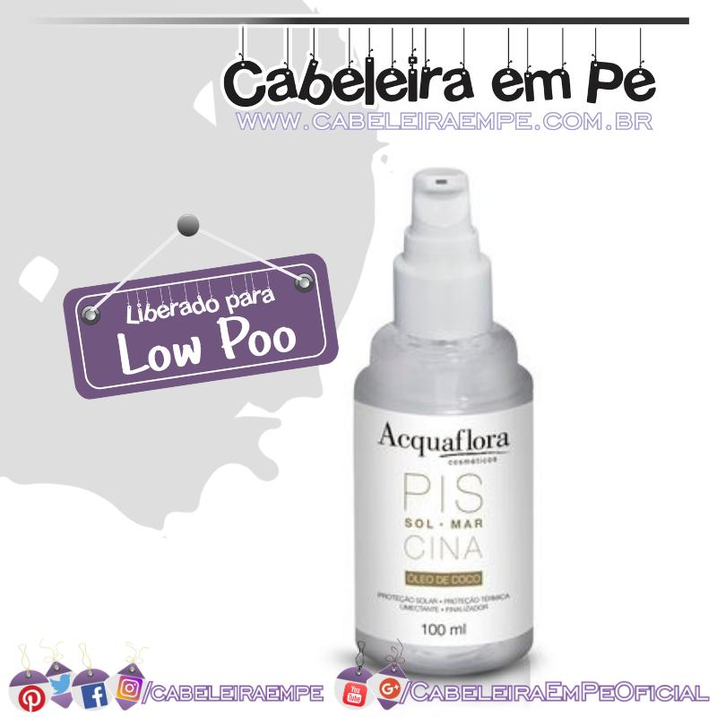 Óleo de Coco - Acquaflora (Low Poo)