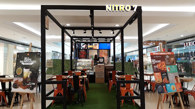 October 4, 2019, I attended a foodie meetup at nitro 7 at 4/F SM Megamall (near Cyberzone
