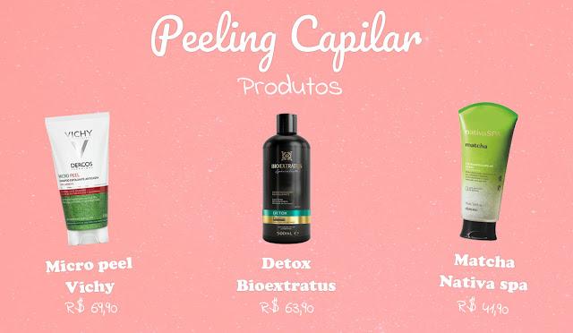 Peeling Capilar Produtos