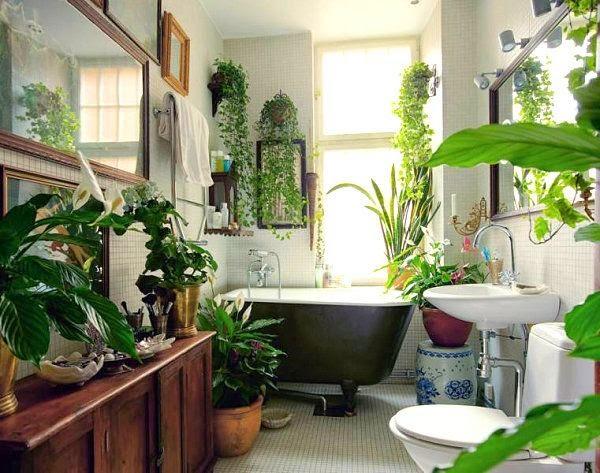 Conseguir un ambiente fresco en el baño