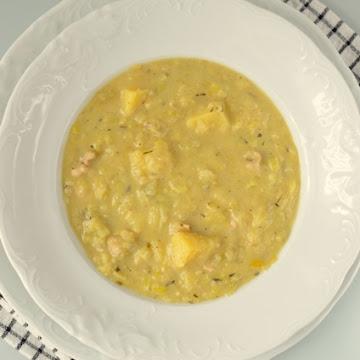 Zupa porowo - ziemniaczana z estragonem - Czytaj więcej »