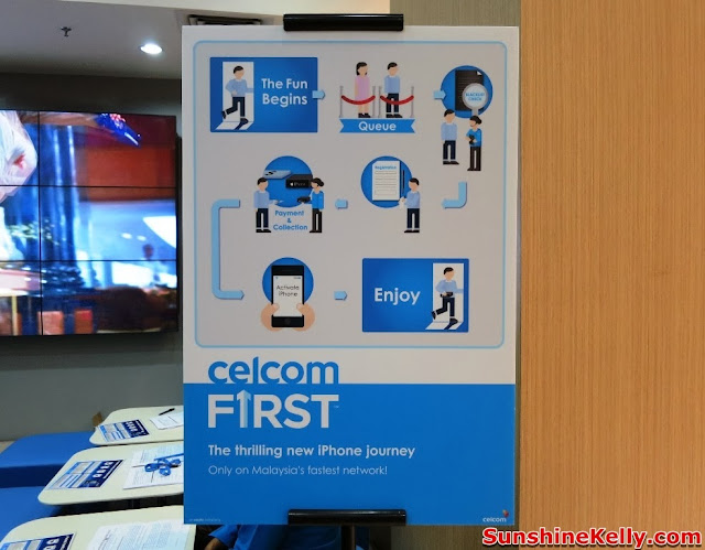 Celcom First, Celcom, iPhone 5s, iPhone 5c, Celcom Blue Cube, Sunway Pyramid, the cube, the first