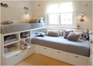 Corner Unit for Twin Storage Beds