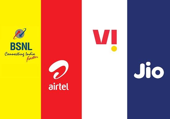 Best Annual Unlimited Prepaid Mobile Plans Compared : BSNL vs Jio vs Airtel vs Vi