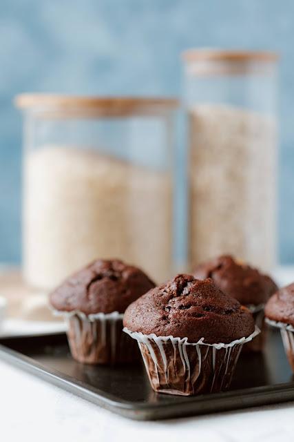 i muffin veloci al cacao
