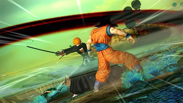 J-Stars Victory Vs, Shounen, Jump, Weekly Shounen Jump, Anime collaboration, games, PS3, Playable Characters, Screenshot, Ichigo, Goku