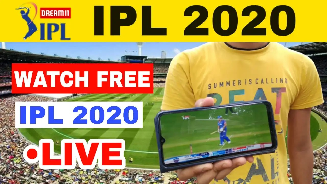 How to Watch IPL 2020 free in mobile, Watch free IPL 2020