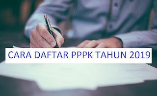 Cara Daftar Lowongan Kerja PPPK (P3K) Tahun 2019 Tahap 2