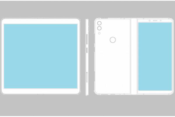 شركة ZTE تسجل براءت اختراع لهاتف قابل للطي