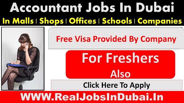 Accounting Jobs In Dubai, Abu Dhabi , Sharjah & Ajman  UAE 2021