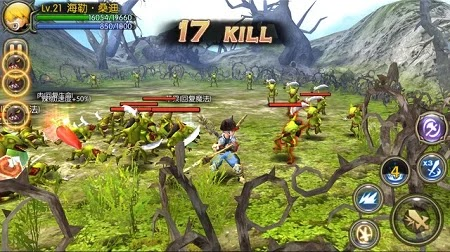 Screenshot Dragon Nest Awake Android