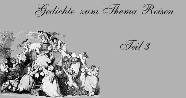 Gedichte Und Zitate Fur Alle Fernweh Und Reise Im Gedicht