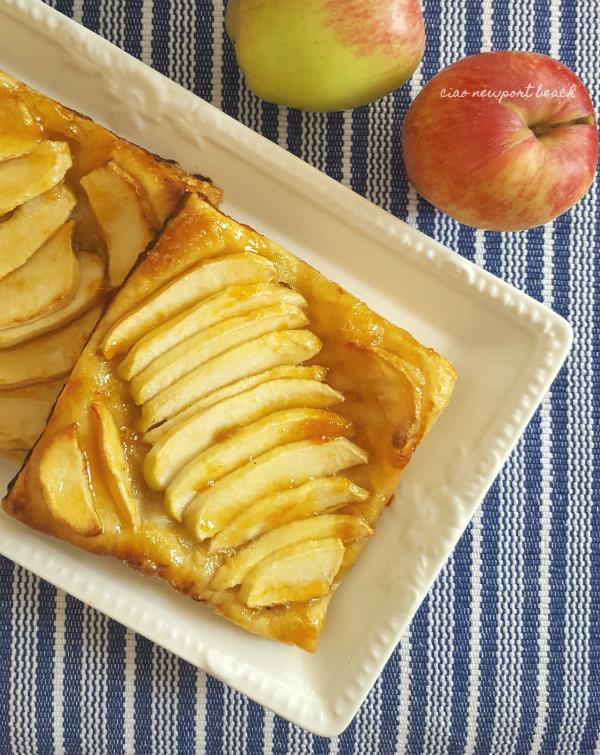 Ciao Newport Beach Easy Apple Tarts