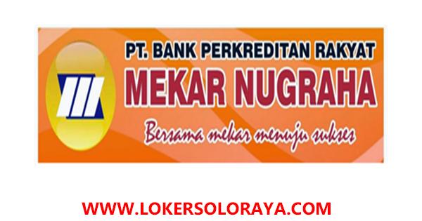 Lowongan Kerja Marketing Kredit di PT. BPR Mekar Nugraha Cabang ...