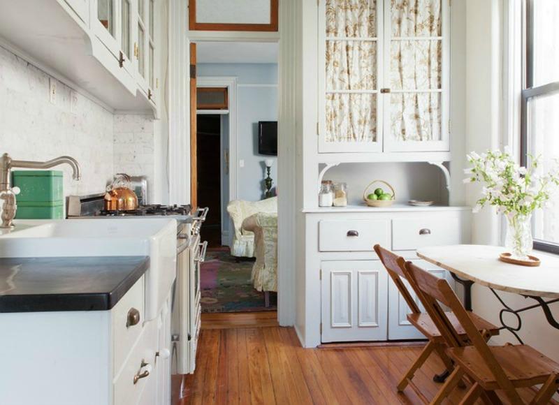 10 cocinas peque as bonitas y muy pr cticas por fin en casa for Cocinas bonitas