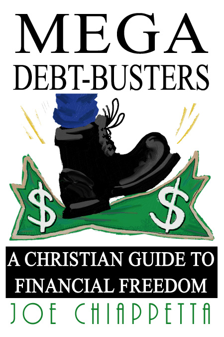 Mega Debt-Busters book ordering page by Joe Chiappetta