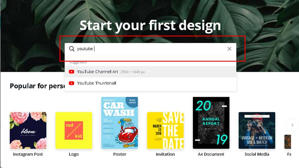 How To Make youtibe channel art