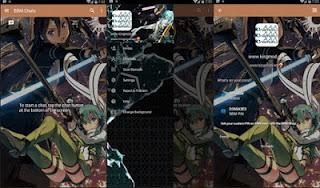 BBM Anime Sword Ard GGO V3.1.0.13 Apk Terbaru