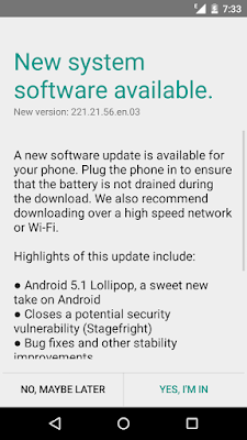 [Download] Moto G 1st Gen Android 5.1 + Stagefright Update available for India