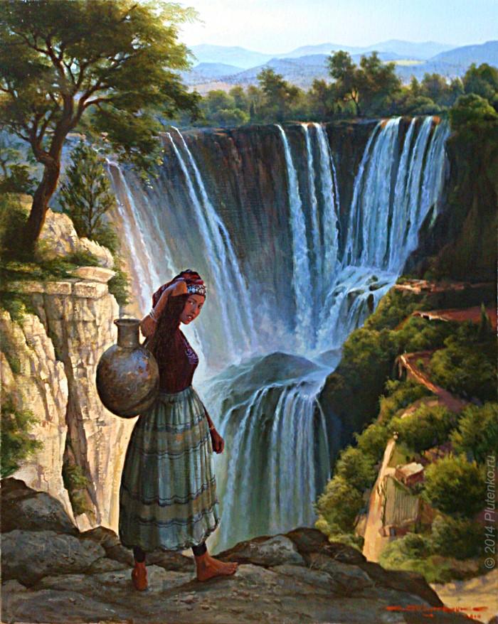 К водопаду