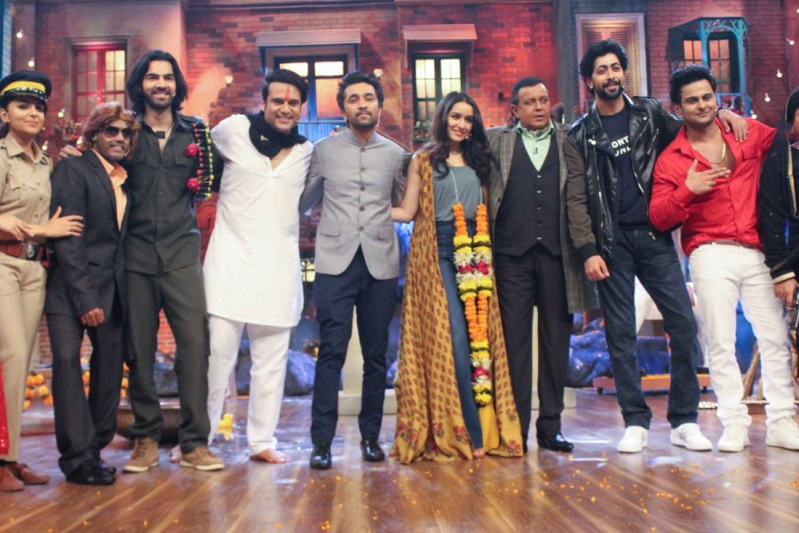 Shraddha Kapoor and Siddhanth Promote Haseena Parkar on The Sets of The Drama Company
