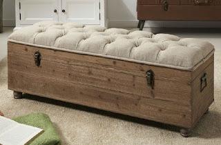 Baul tapizado