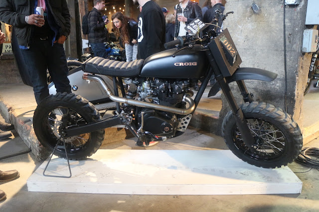 the one moto show number 9 croig cafe racers of instagram