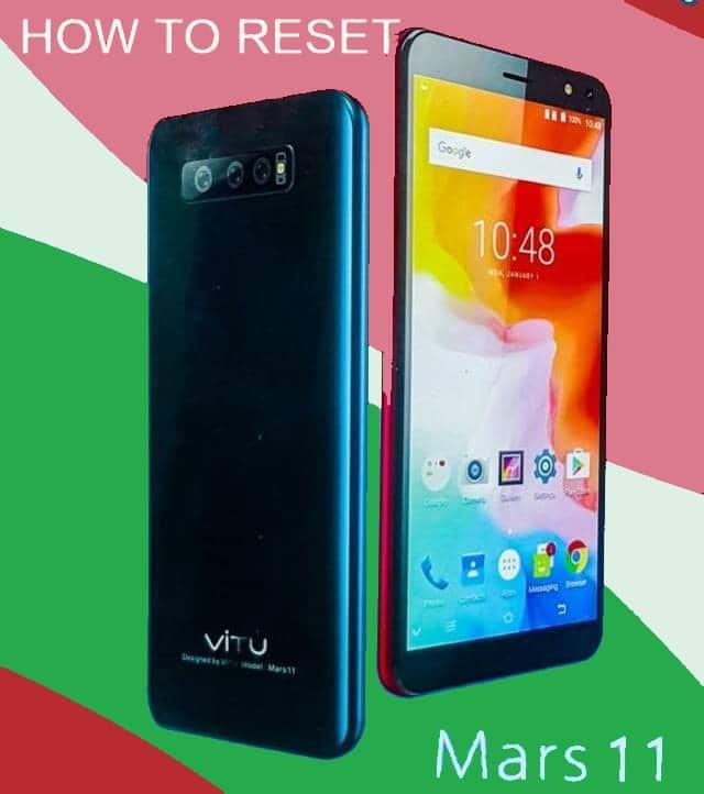 HOW TO RESET VITU Mars11 Smartphone