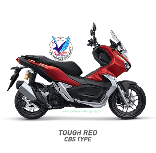Honda ADV150 Tought Red CBS