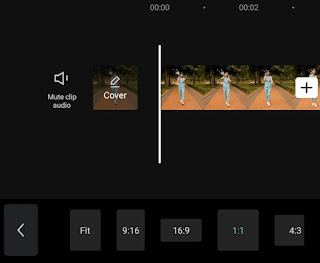 how to change aspect ratio of video for instagram