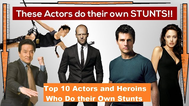 Actors Who Do or Done Their Dangerous Stunts Own