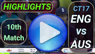 ENG vs AUS 10th Match