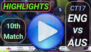ENG vs AUS 10th Match