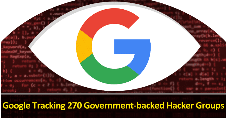 Google Tracking 270 Government-backed Hacker Groups From Over 50 Countries