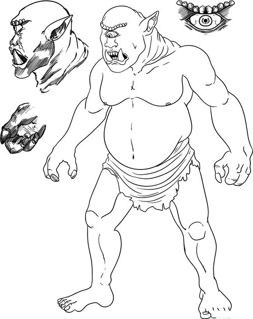Free Cyclops Coloring Pages For Kids >> Disney Coloring Pages