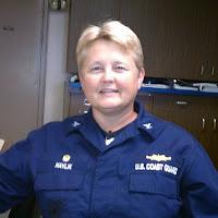Captain of the USCG Healy, Beverly Havlik