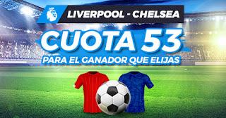 Paston Megacuota doble Liverpool vs Chelsea ganan a cuota 53 22-7-2020