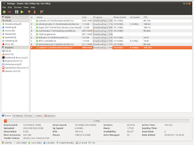 deluge bit torrent client