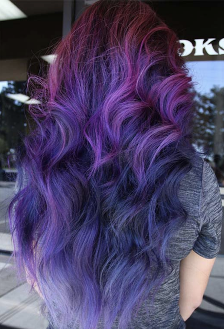 purple hair color 2019 - 2020
