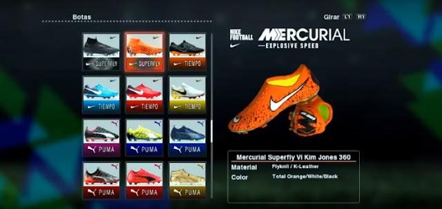 PES 2013 Nike X Kim Jones Mercurial Superfly 360 CR7 Boots 2018
