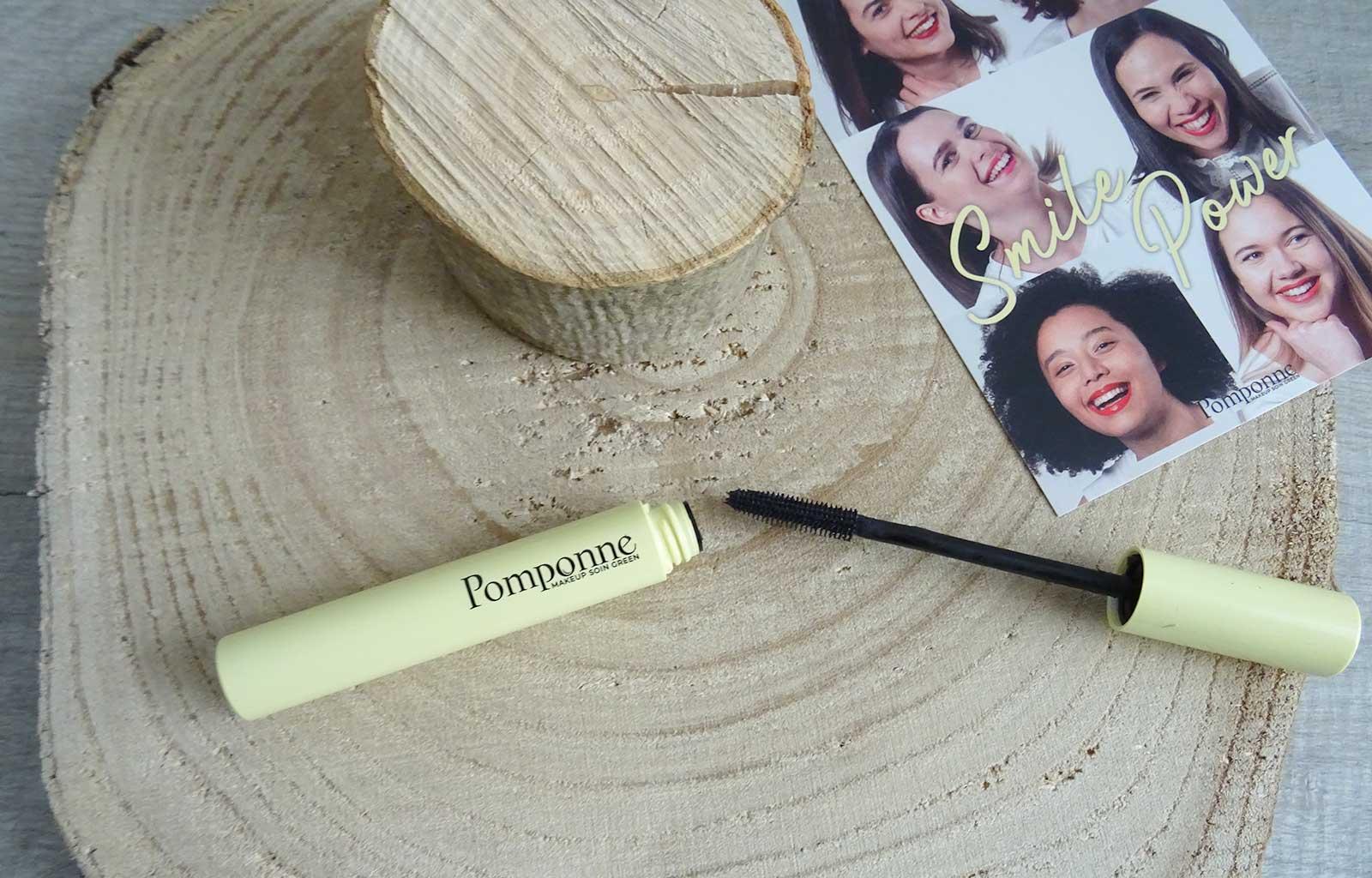 mascara naturel booster de cils pomponne