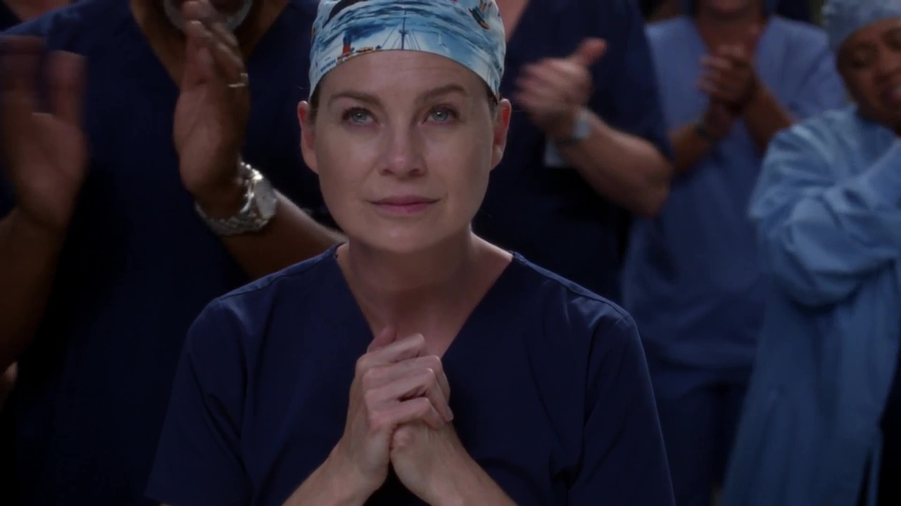 Grey's Anatomy 14x07 Who Lives, Who Dies, Who Tells Your Story 300 300th Episode Meredith
