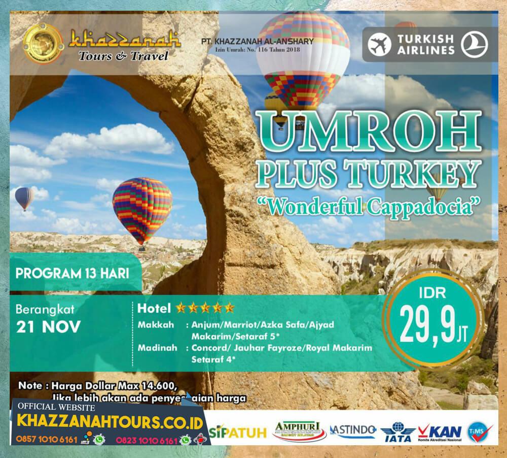 Umroh Plus Turkey Cappadocia