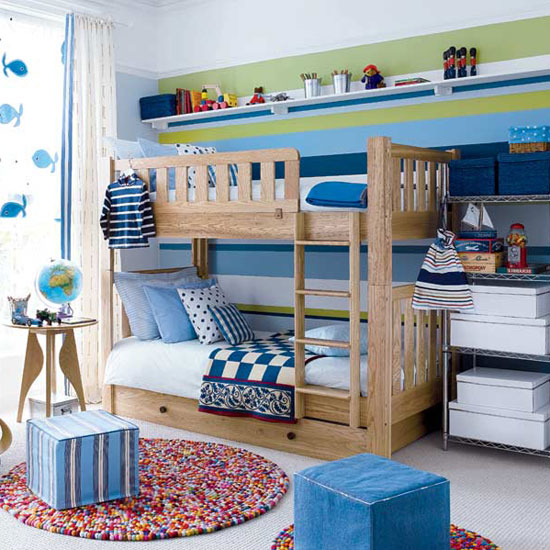 Boys Bedroom Decor: Interior Design Decorating Ideas: Beautiful Twin Boys