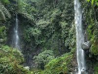 Curug Badak, Air Terjun yang Indah dari Gunung Talaga Bodas Tasikmalaya