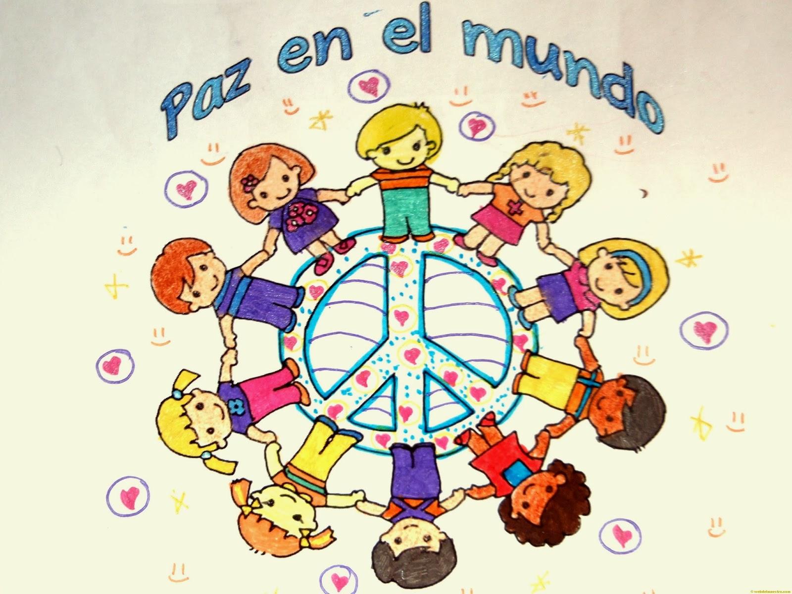 Rincón De Infantil Día De La Paz: Un Libro Abierto Para Todos: MANIFIESTO POR LA PAZ DE LOS